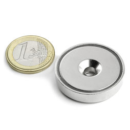 CSN-32, Countersunk pot magnet Ø 32 mm, strength approx. 30 kg